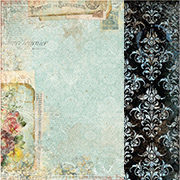 Serendipity Chronicle Scrapbook Paper
