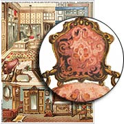 Shabby Chic Chair Collage Sheet