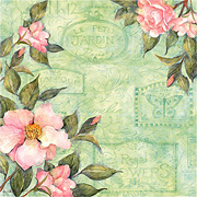 Spring Blossom - Camellia Scrapbook Paper
