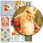 Saint Nicholas Collage Sheet