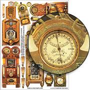 Steampunk Machines Collage Sheet