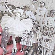 Tim Holtz Sepia Vintage Paper Dolls