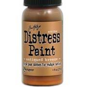 Metallic Distress Paints - Antiqued Bronze