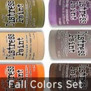 Distress Paints - Fall Set
