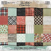 Tim Holtz Christmas 8x8 Paper Stash