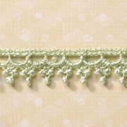 Mint Green Crochet Trim