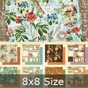 Time to Flourish 8x8 Paper Pad