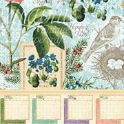 Time to Flourish Calendar 8x8 Paper Pad