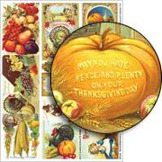 Thanksgiving ATCs Collage Sheet