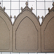 Castle Towers Reliquary - Triptych*