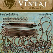 Vintaj Antique Brass Findings Pack