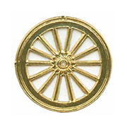 Gold Dresden Wagon Wheels