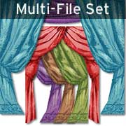Window Curtains Set Download