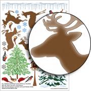 Winter Wonderland Collage Sheet