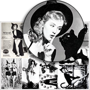 Women In Costume Collage Sheet