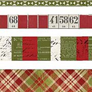 Tim Holtz - Tissue Tape Set - Yuletide