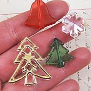 Acrylic Christmas Bead Mix