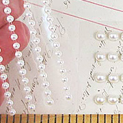 Cream Adhesive Pearls