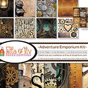 Adventure Emporium Steampunk 12x12 Collection Kit