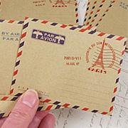 Mini Airmail Envelope Set*