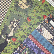 Halloween in Wonderland Scrapbook Paper Set
