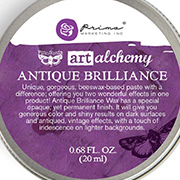 Art Alchemy Antique Brilliance - Amethyst Magic