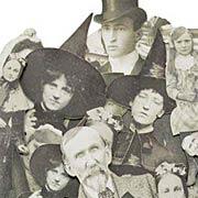 Tim Holtz Sepia Paper Dolls - Ancestors
