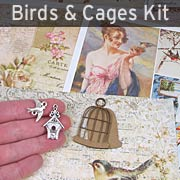 Birds & Cages Kit - April 2016