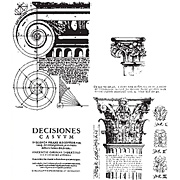 Classics 2 - Columns Architecture Cling Stamp Set