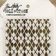 Tim Holtz Stencil - Argyle