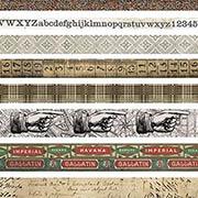 Tim Holtz Design Tape Set - Aristocrat