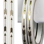 3mm Tape - Gold Arrows*