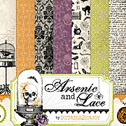 Arsenic and Lace 12x12 Collection Kit