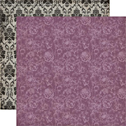 Arsenic and Lace Scrapbook Paper - Floral
