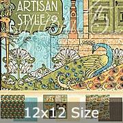 Artisan Style 12x12 Paper Pad