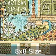 Artisan Style 8x8 Paper Pad