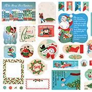 A Very Merry Christmas Cardstock Ephemera