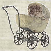 Architextures - Wicker Baby Carriage