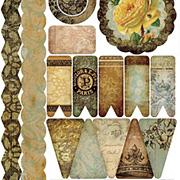 Glamour & Grunge Washi Stickers - Banners