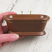 1:12 Wooden Bathtub
