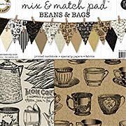 Mix & Match Paper Pad - Beans & Bags