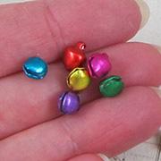 5mm Multi-Color Metal Jingle Bells