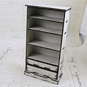 Bookshelf with Drawers - 1:12