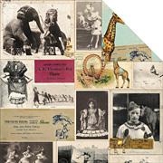Carnival Scrapbook Paper - Big Top