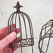 Wire Garden Birdcage