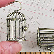 2 Inch Antique Bronze Birdcage
