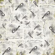 Nostalgic Birds Scrapbook Paper