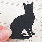 Black Cat Cut-Outs