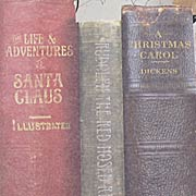 Santas Journey Christmas Book Spine Tags*