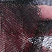 Tulle Netting - 6 Inch Wide - Black